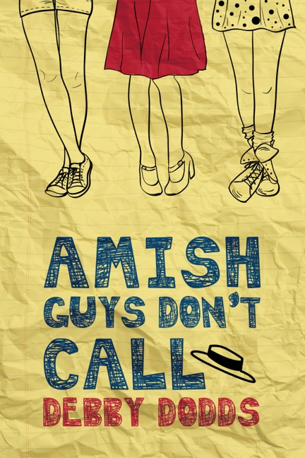 Amish Guys Don't Call By Debby Dodds Book Cover
